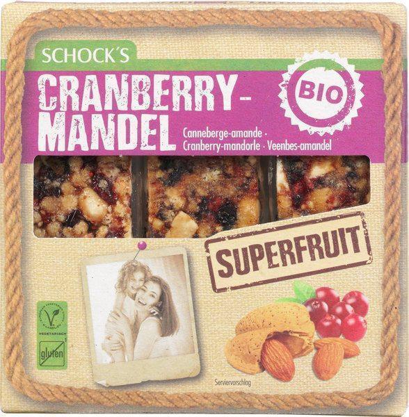 Notenrepen met cranberries (75g)