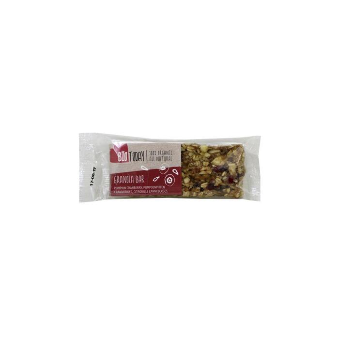 Bio Today Cranberry & pompoen reep (50g)