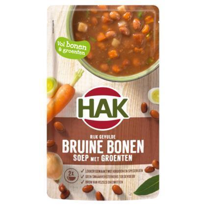 Rijkgevulde bruine bonensoep (0.57L)