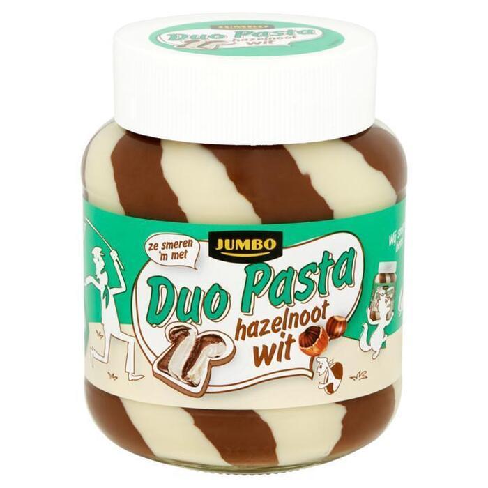 Jumbo Duo Pasta Hazelnoot Wit 400g (400g)