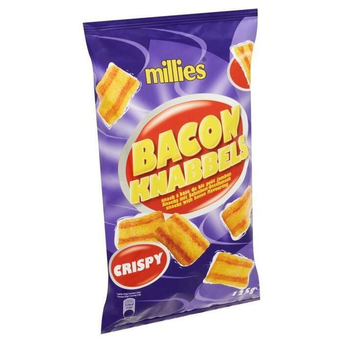Bacon Knabbels (zak, 125g)