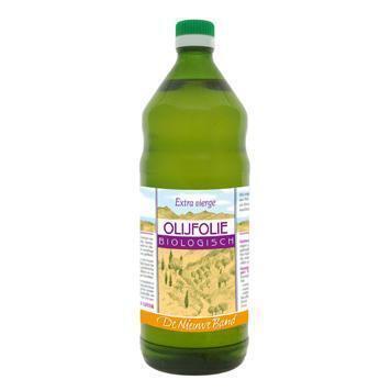 Biologische Olijfolie Extra Vierge (glas, 1L)