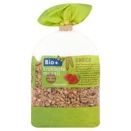 Bio+ Krokante muesli chocolade rood fruit (400g)