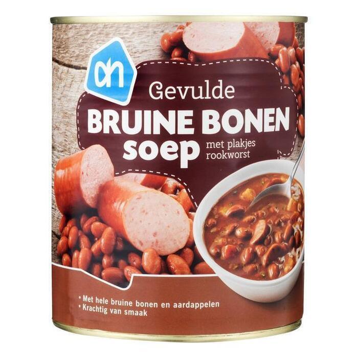 AH Rijkgevulde bruine bonensoep (0.8L)