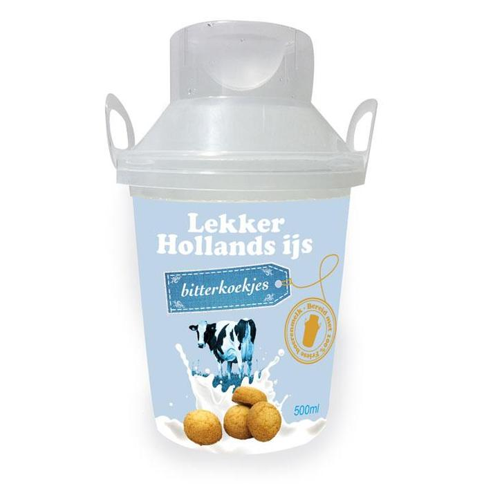 Echt Hollands Bitterkoekjes ijs (0.5L)