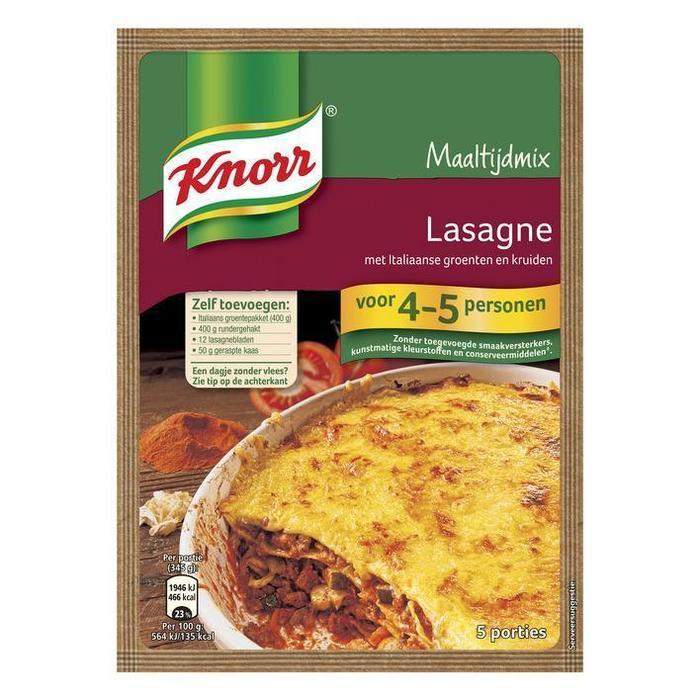 Lasagne met Italiaanse tomatensaus (XL verpakking) (100g)