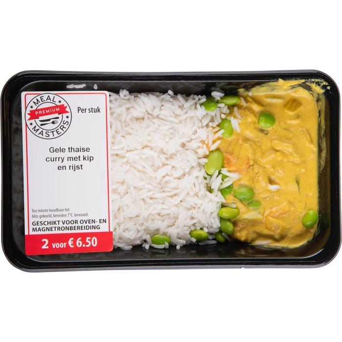 Kroes Gele Thaise curry met kip en rijst 450gr (450g)