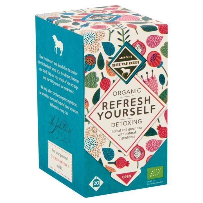 Thee Van Oordt Detoxing Herbal & Green Tea 1-kops (20 × 1.5g)