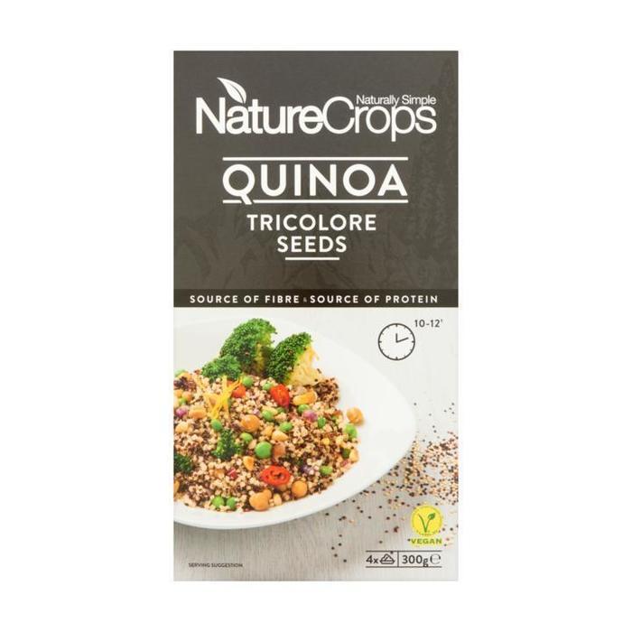 NatureCrops Quinoa Tricolore Seeds 300 g (300g)