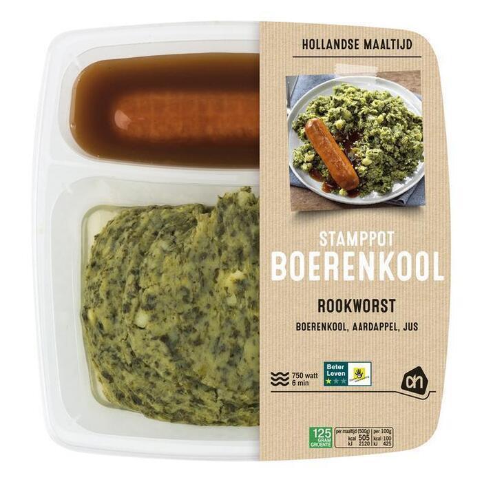 AH Hollandse stamppot boerenkool (500g)