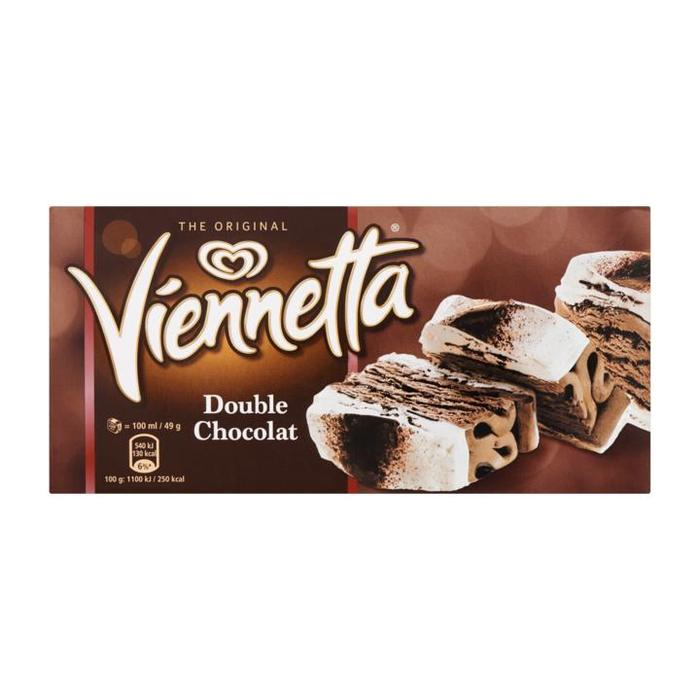 Viennetta Double Chocolat 650ML 6x (0.65L)