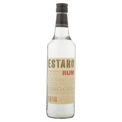Estaro rum wit (rol, 70 × 0.7L)