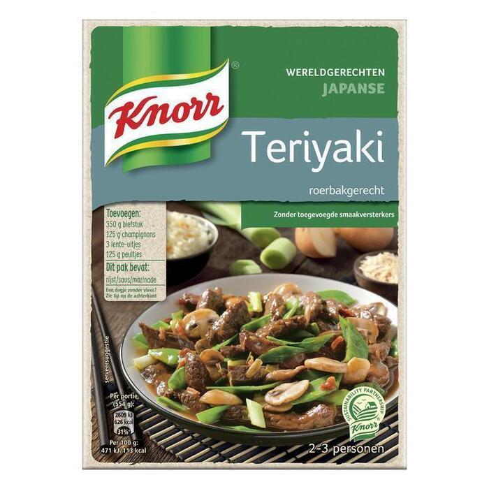 Knorr Wereldgerechten Teriyaki 318g (doos, 318g)