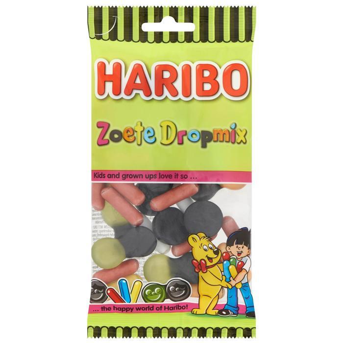 Haribo Zoete dropmix (110g)