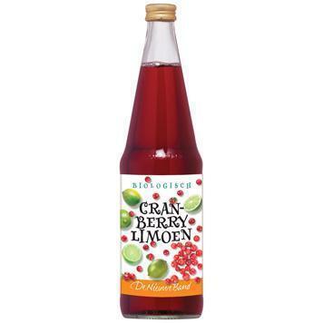 Cranberry - Limoen (glas, 0.7L)