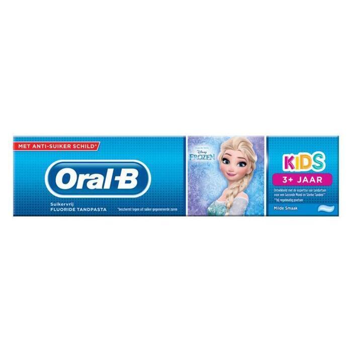 Oral-B Kids Cars Tandpasta 75 ml, 3+ Jaar (75ml)