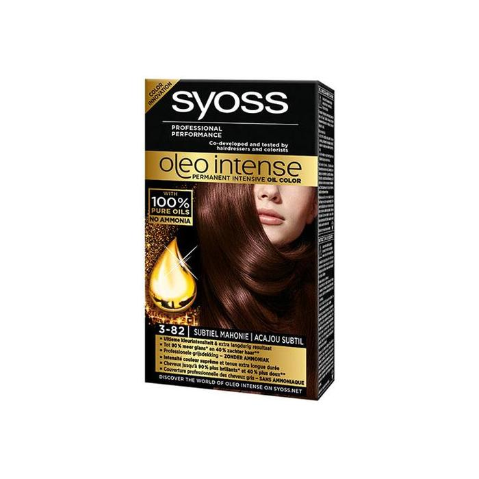 Syoss Oleo haarkleuring 3-82 sub mahonie (stuk)