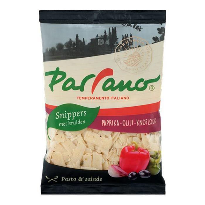 Parrano Snippers paprika- olijf- knoflook (80g)