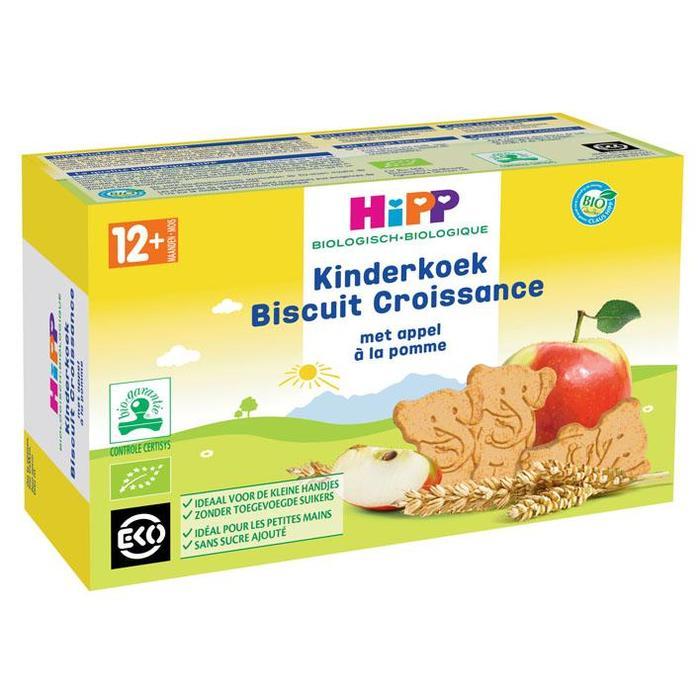 Bio kinderkoek met appelen (150g)