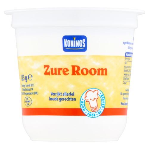 Konings Zure Room 125 g (125g)
