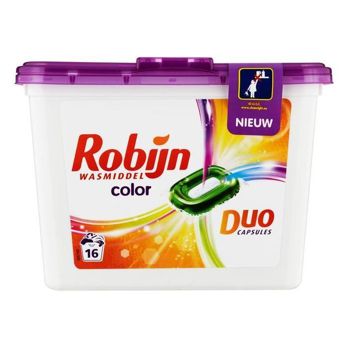 Robijn Wasmiddel duo capsules color (16 × 368g)