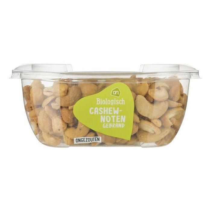 AH Biologisch Gebrande cashewnoten ongezouten (160g)