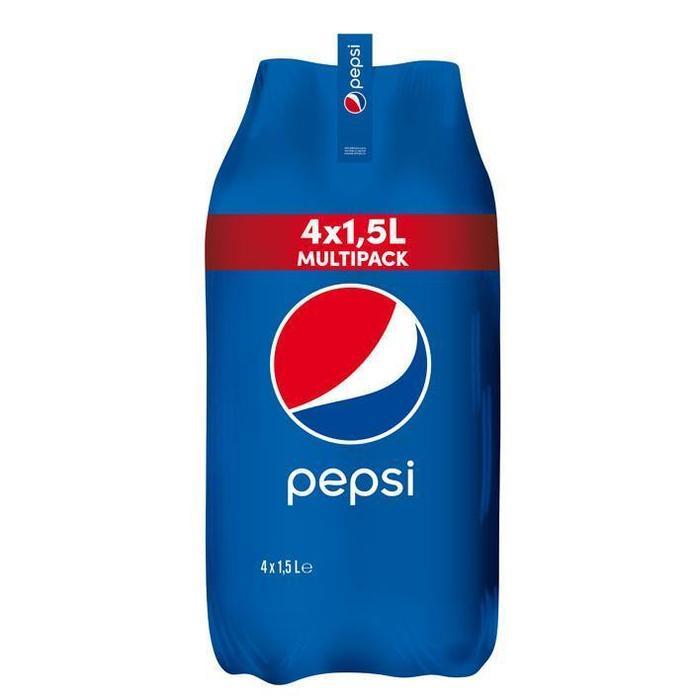 Pepsi Cola multipack (4 × 1.5L)
