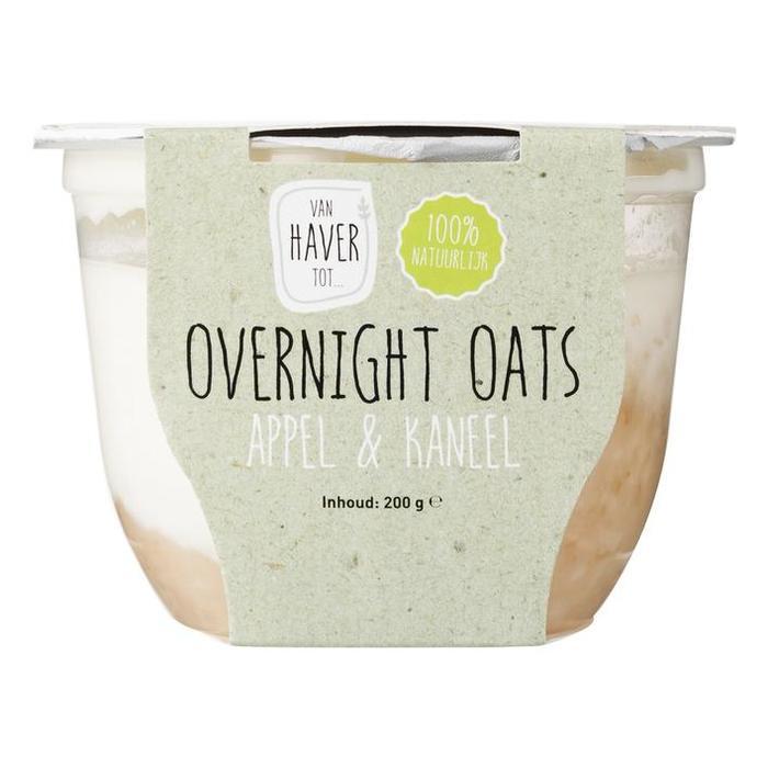 Van Haver Tot Overnight oats appel kaneel (200g)