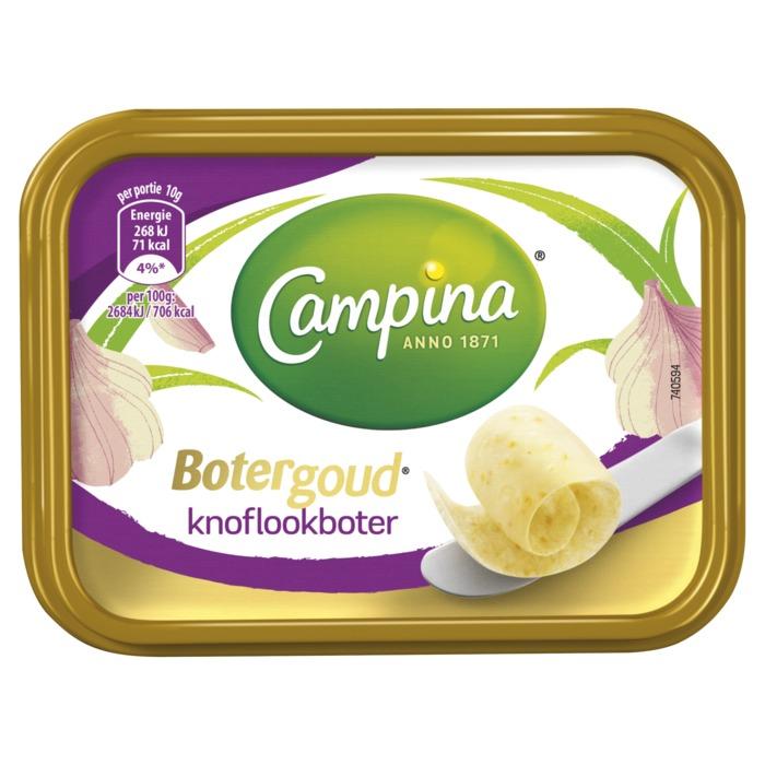 Botergoud knoflook (kuipje, 100g)