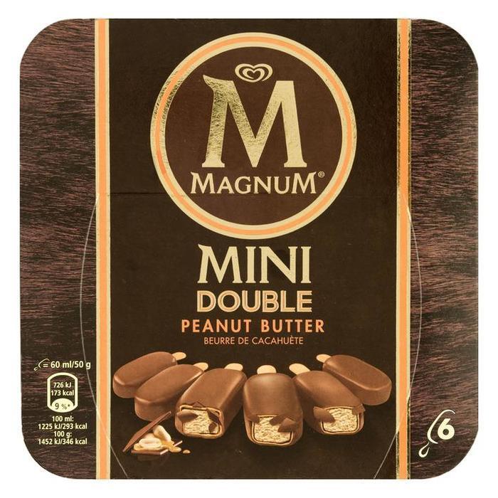 ***Magnum mini peanutbutter 6st (6 × 36cl)