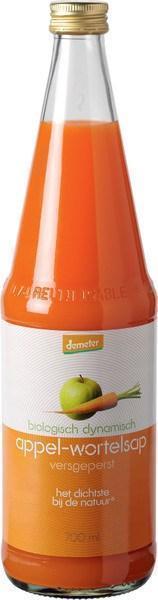 Appel wortelsap (glas, 0.7L)