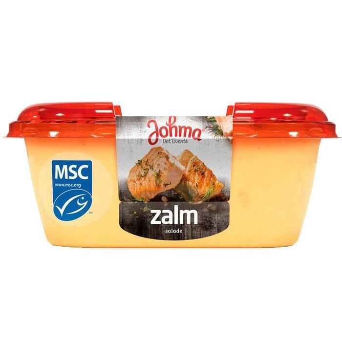 Zalm salade (bak, 175g)