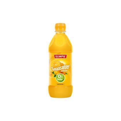 Slimpie. Sinaasappel Limonadesiroop 0% suiker (Stuk, 0.58L)