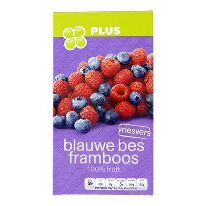 Blauwe bes/framboos (250g)