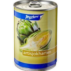 Artisjokharten (blik, 390g)