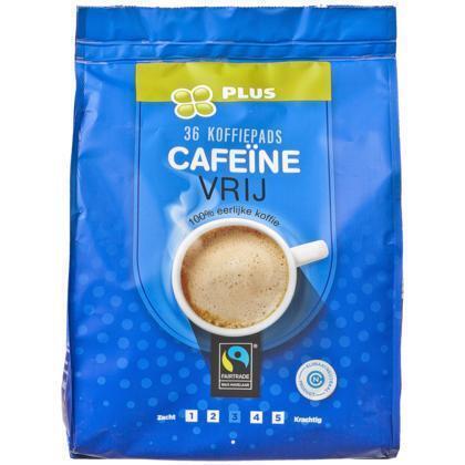 Koffiepads cafeïnevrij