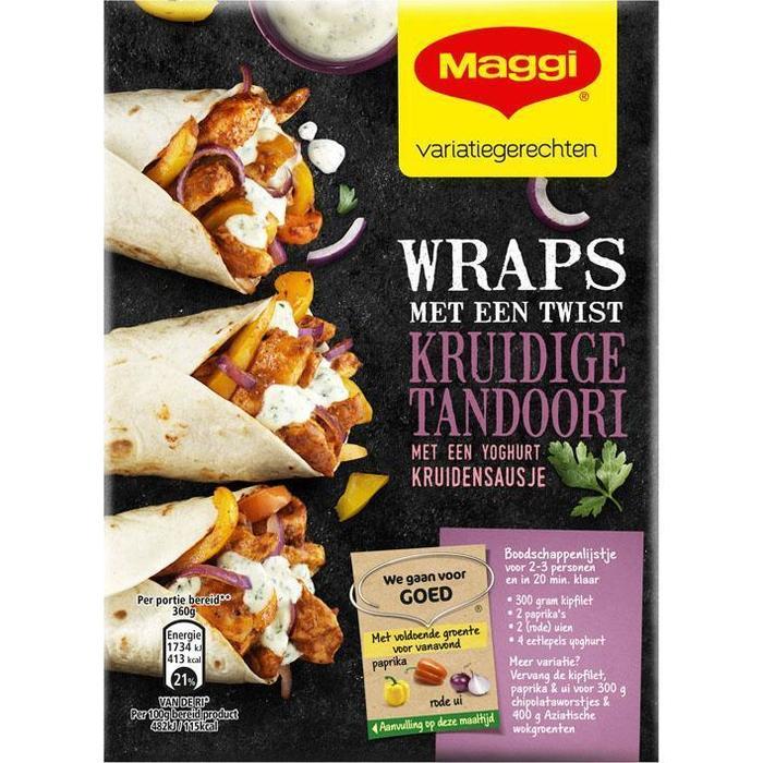 Wraps tandoori (Stuk, 165g)