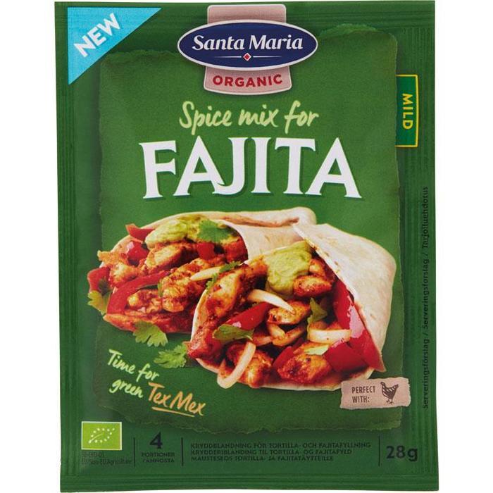 Santa Maria Fajita spice mix (28g)