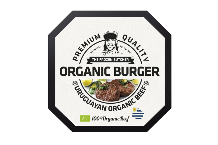 The Frozen Butcher Organic burger (2 × 250g)