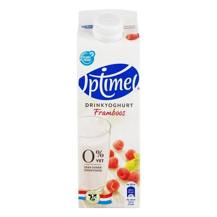 Drinkyoghurt framboos (pak, 0.5L)