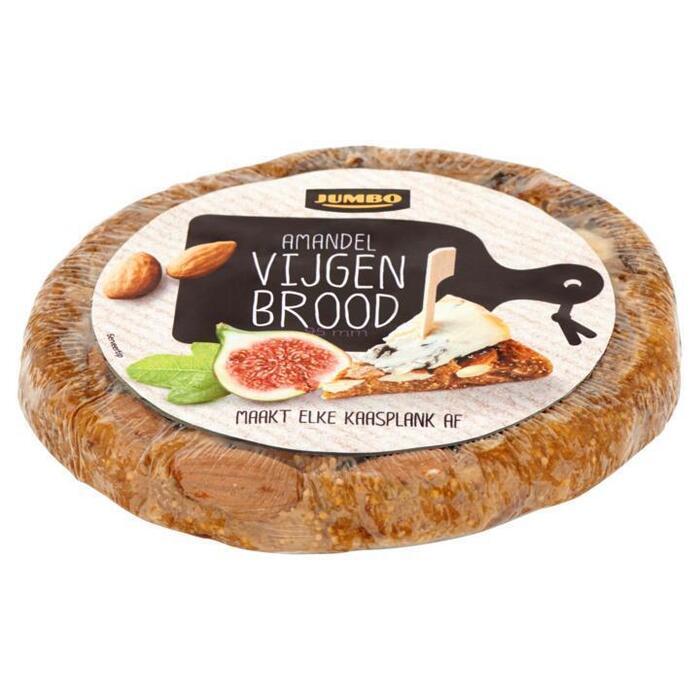 Jumbo Amandel Vijgen Brood 200g (200g)
