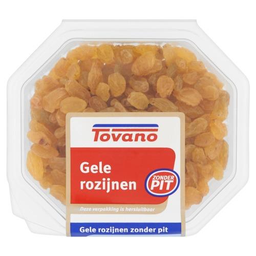 Gele Rozijnen Zonder Pit (bak, 200g)