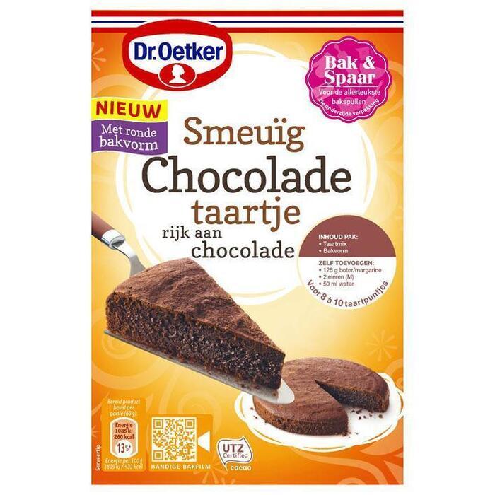 Dr. Oetker Smeuïg chocoladetaartje (390g)