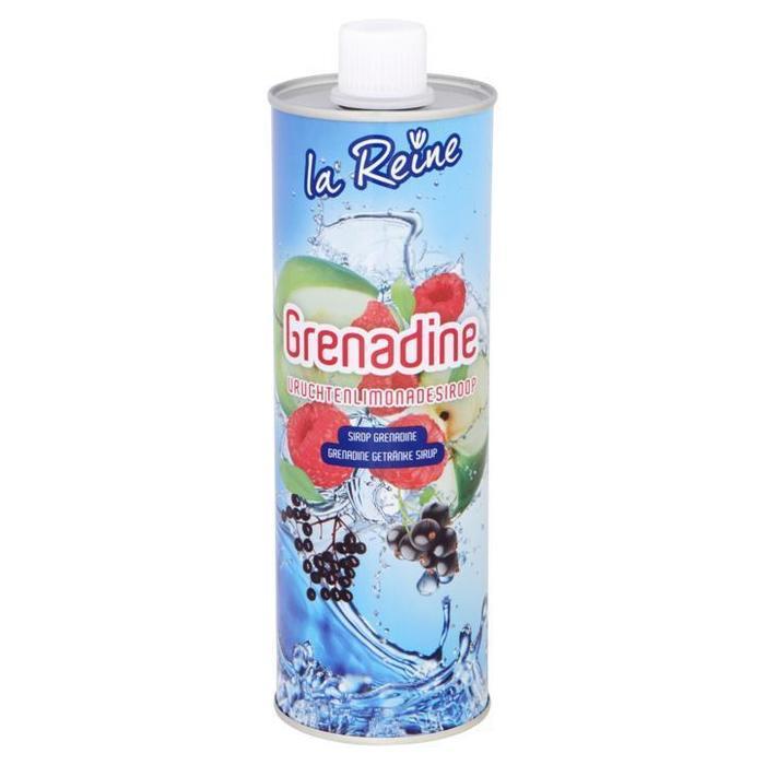 La Reine Grenadine Vruchtenlimonadesiroop 0, 75L (0.75L)