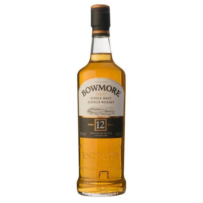Bowmore Single malt Scotch whisky 12 years (rol, 35 × 35cl)