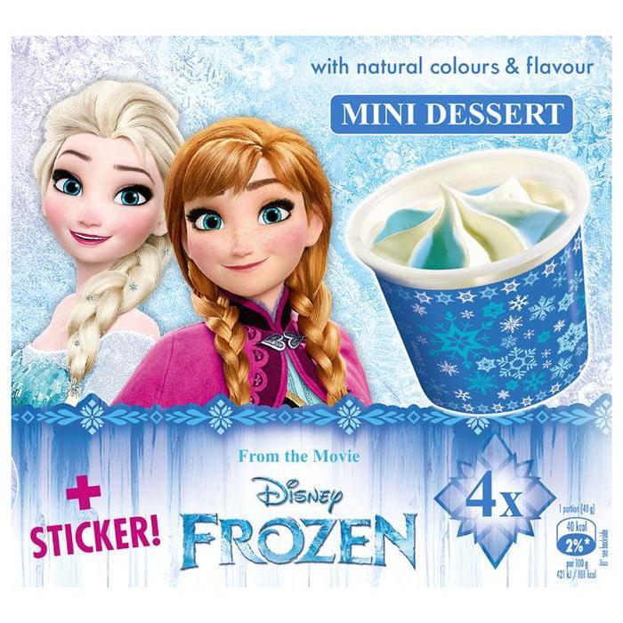 Disney IJscup Frozen (4 × 160g)