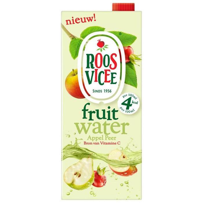 Roosvicee Fruit Water Appel Peer 1.5 LTR Verpakt, geen specificatie (1.5L)