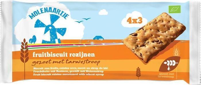 Fruitbiscuit rozijnen (175g)