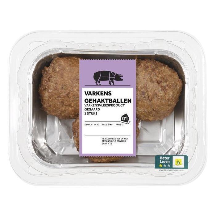 Gehaktbal varkensvlees (bak, 300g)
