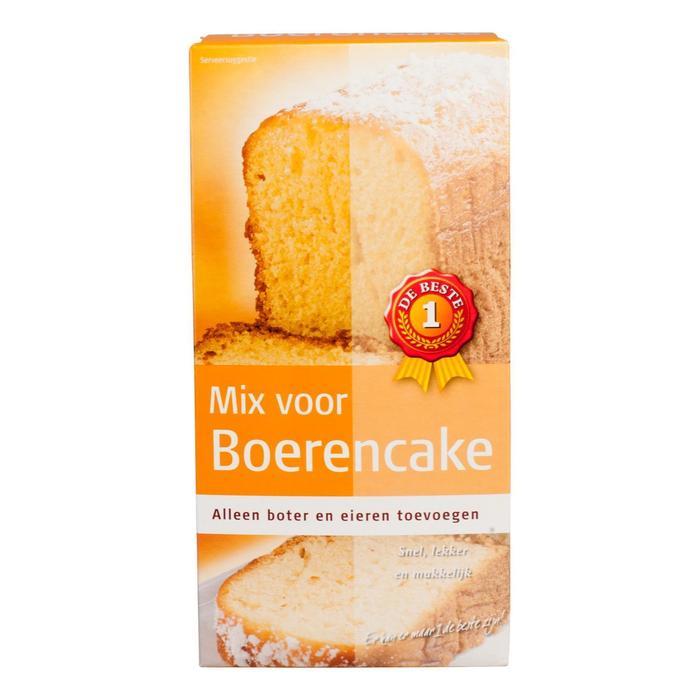 Mix voor boerencake (400g)